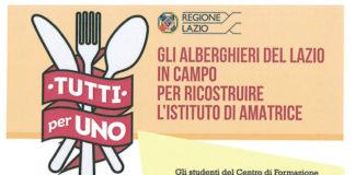 AMAtrice, gli istituti alberghieri del Lazio in campo per i terremotati.