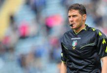 Sesta gara in serie A per Fabrizio Pasqua arbitro di Tivoli