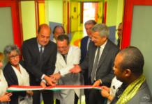 Zingaretti e De Salazar tagliano il nastro della nuova Sala Parto dell'ospedale di Tivoli