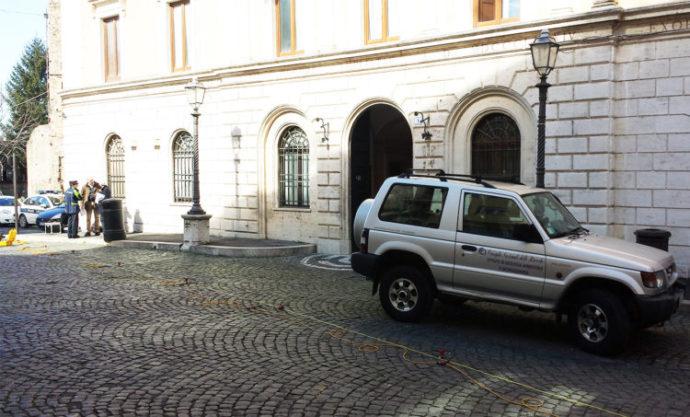 Studi tecnici sul Municipio di Tivoli