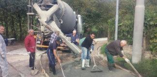 Volontari al lavoro a Tivoli zona Arci