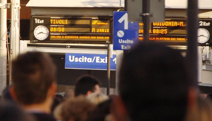 Treni in ritardo sulla FL2 Roma - Pescara