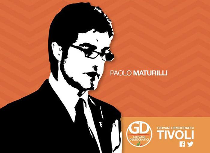 Dedicato a Paolo Maturilli il circolo dei Giovani Democratici di Tivoli