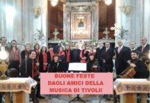 Il concerto di Natale 2016 a Tivoli