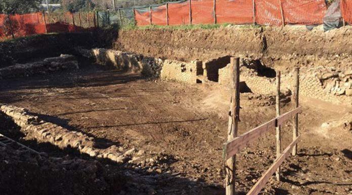 "Scoperta archeologica a Marcellina, trovata ""beauty farm"" di 2200 anni fa. Foto da Facebook"
