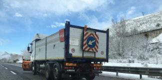 Allerta neve, attenzione in autostrada