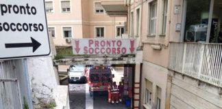 Il pronto soccorso dell'ospedale di Tivoli
