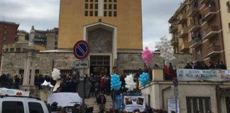 Funerali dei due ragazzi di Tivoli