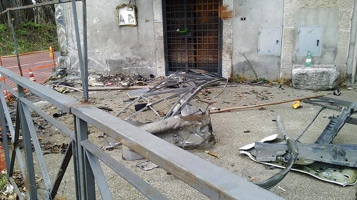 Incidente sulla Tiburtina, il luogo dell'incidente