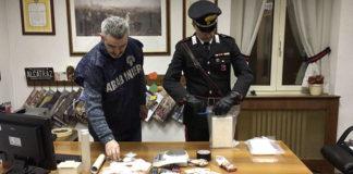 Sequestro di droga a Fonte Nuova
