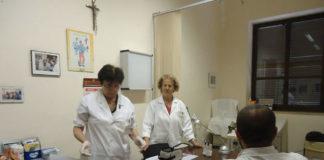 Aiuti della Caritas, l'ambulatorio medico