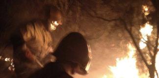Incendio a Monte Ripoli
