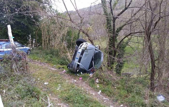 Incidente sulla Tiburtina a Vicovaro