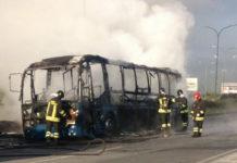 Bus Cotral fuori uso