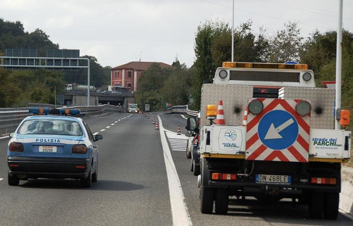 A24, verifiche in corso su 8 viadotti: scattano alcune limitazioni