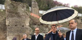 Zingaretti e Vincenzi, inaugurazione cantiere Arci