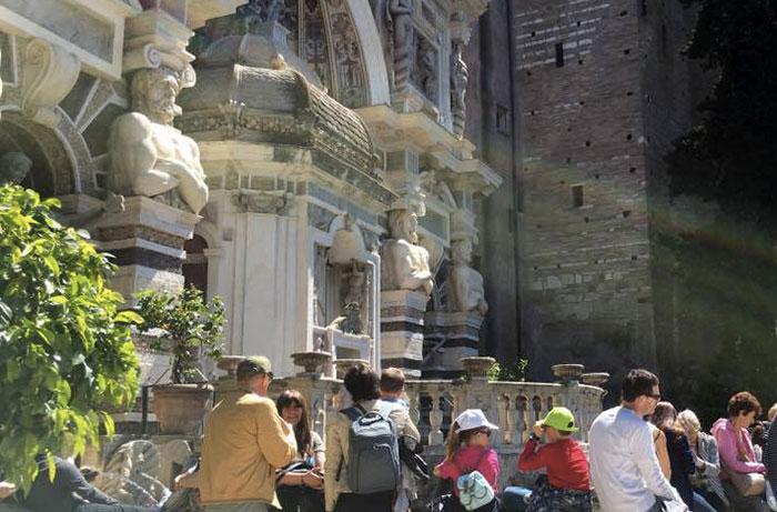 Turismo a Tivoli, fontana dell'Organo a Tivoli