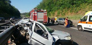 Autostrada A24 chiusa per incidente