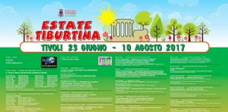 Estate Tiburtina 2017 il manifesto - Programma Estate Tiburtina Giugno