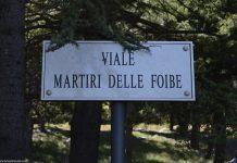 Polemiche sulle Foibe a Tivoli. Foto La Mia Trieste