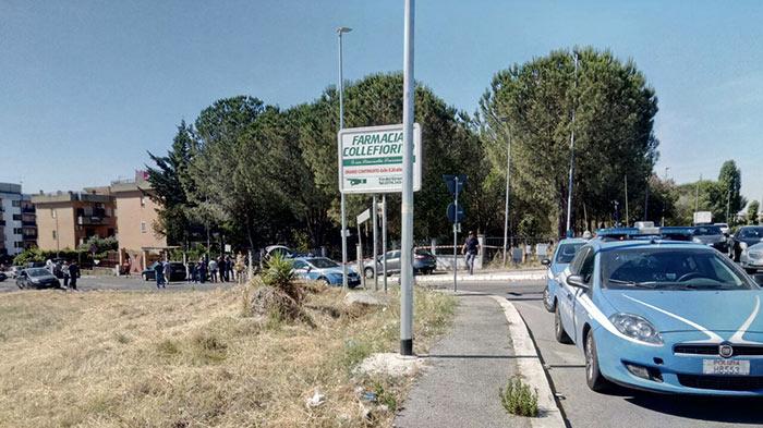 Sparatoria a Guidonia Montecelio