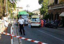 Via Tiburtina chiusa per incidente