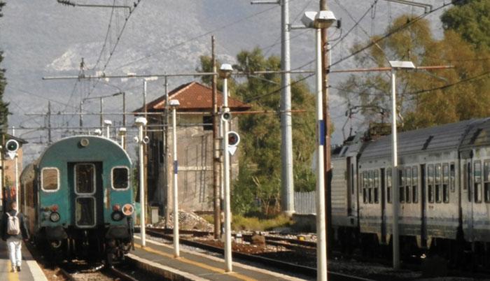 Lavori sulla ferrovia Fl2