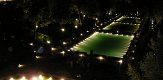 Villa d'Este di notte
