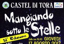 MANGIANDO SOTTO LE STELLE 2017