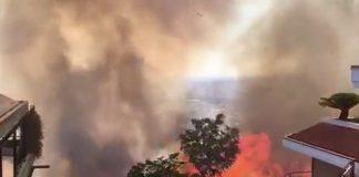 Incendi record in provincia di Roma
