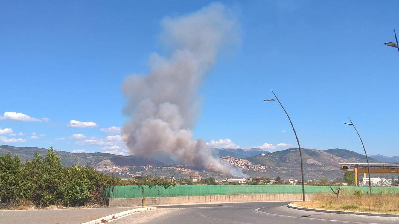 incendio via tiburtina