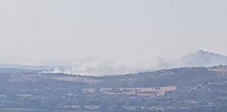 Incendio vicino Roma