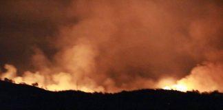 Incendi richiesto lo stato di calamità a Vicovaro