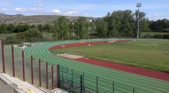 Atletica allo stadio Olindo Galli
