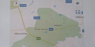 Fusione di Tivoli Terme e Villalba di Guidonia, i confini di Alba Terme