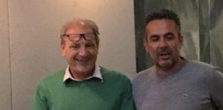 Nuovo segretario del Pd di Tivoli, Piero Ambrosi, con il segretario uscente Alessandro Fontana