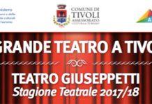 Teatro a Tivoli, il programma della stagione invernale