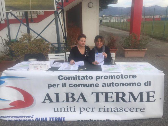 Raccolta firme per Alba Terme