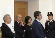 Il procuratore Francesco Menditto, a sinistra, ed il presidente Stefano Carmine De Michele, il nuovo presidente del Tribunale