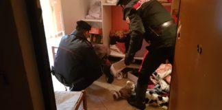 Le perquisizioni dei Carabinieri di Tivoli