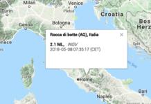 Terremoto a Rocca di Botte