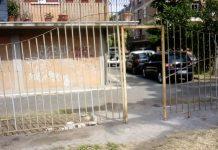 Parco Panattoni, il cancello rubato