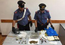 TIVOLI - La droga sequestrata dai Carabinieri