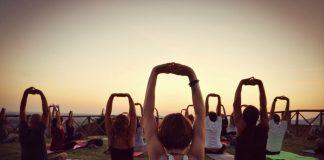 Yoga al tramonte nel Santuario d'Ercole Vincitore