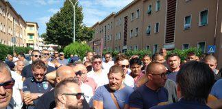Manifestazione per le cave di Guidonia Montecelio