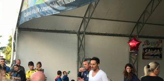 David Di Michele parla ai genitori della scuola calcio del Guidonia
