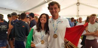 Maria Giubilei e Gianluigi Ugolini campioni del Mondo giovanili di vela a Marsiglia