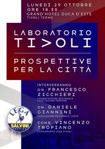 Laboratorio Tivoli, la coalizione della Lega per le comunali di Tivoli