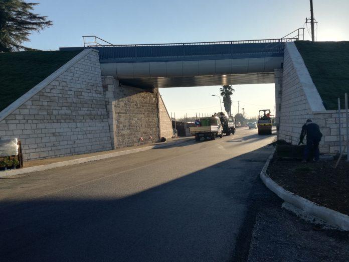 Nuovo ponte ferroviario sulla Maremmana