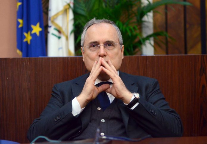 Claudio Lotito Presidente della s.s. Lazio